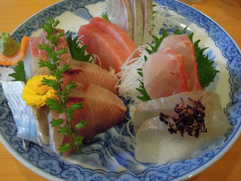 葉山 魚佐 刺し身定食