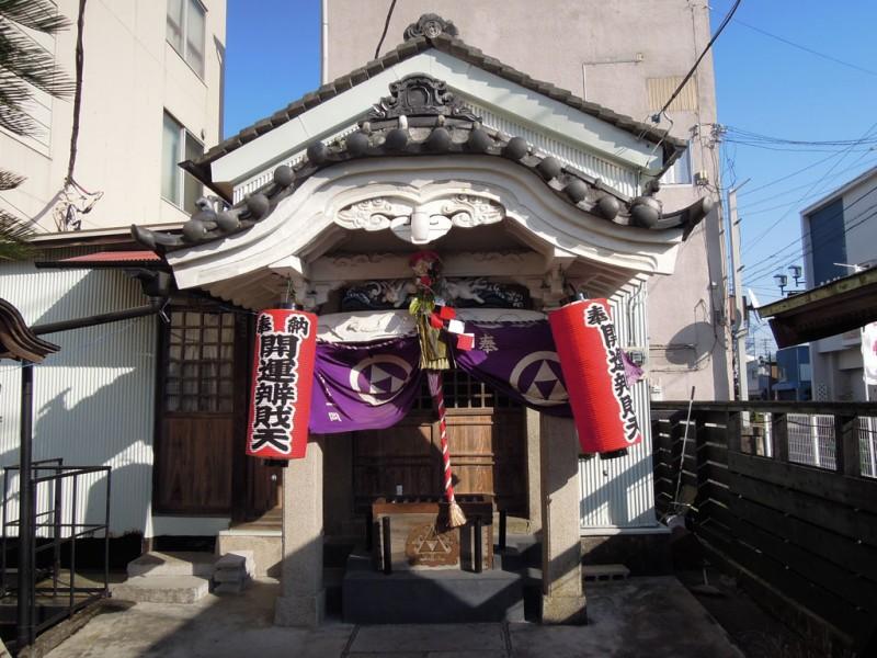 木更津 白弁天 厳島神社 社殿