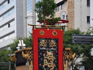 京都祇園祭 太子山 後方