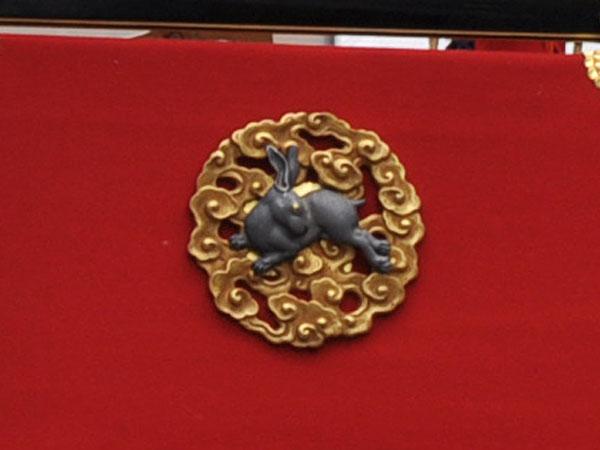 京都祇園祭 太子山 後方 兎