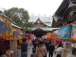湯島天神 参道 梅祭り