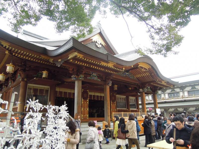 湯島天神 拝殿