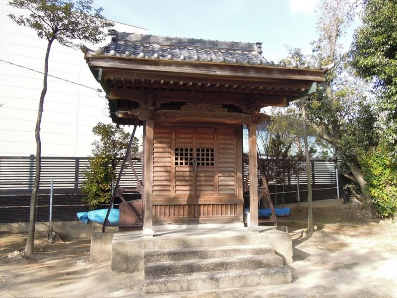 岡崎 秋葉神社 社殿