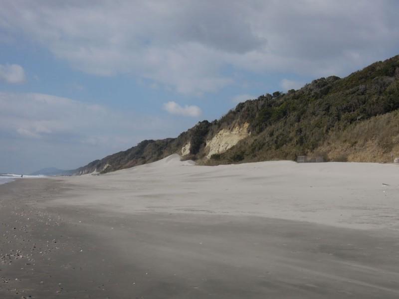 菟頭神社 海岸