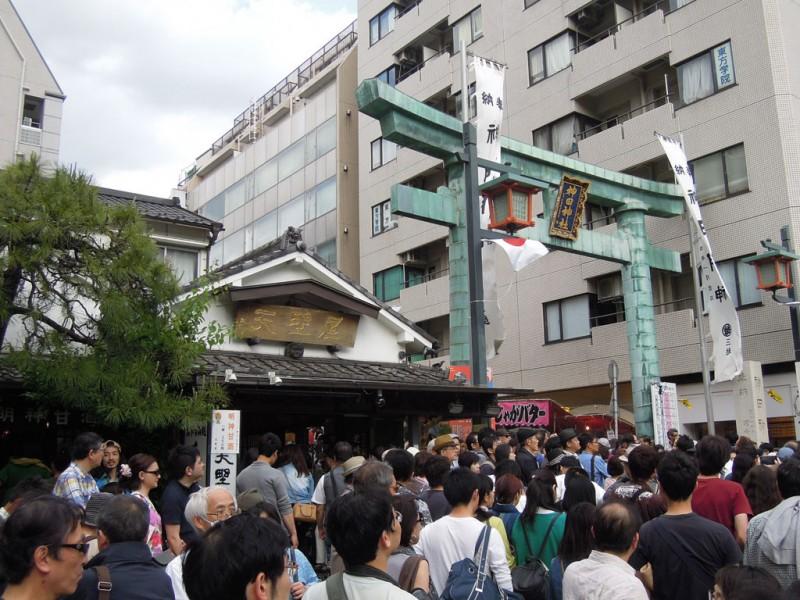 神田祭 2015年 参道入口