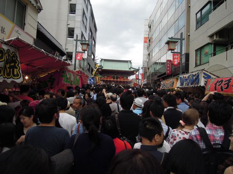 神田祭 2015年 参道