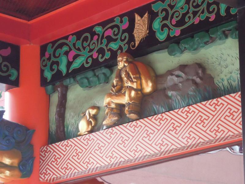 神田祭 2015年 神田明神 随神門 大黒様と兎