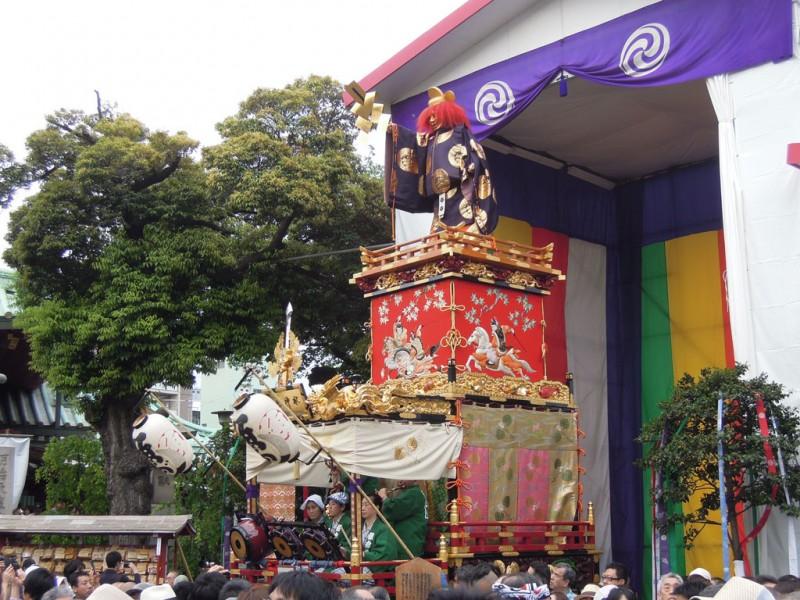 神田祭 2015年 神田明神 境内