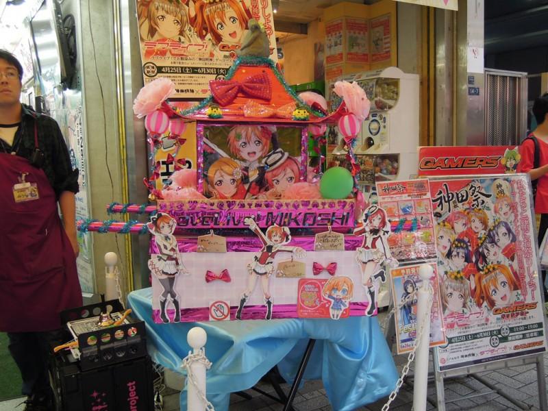 神田祭 2015年 ラブライブ神輿