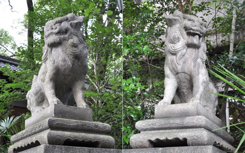 岡崎神社 狛犬