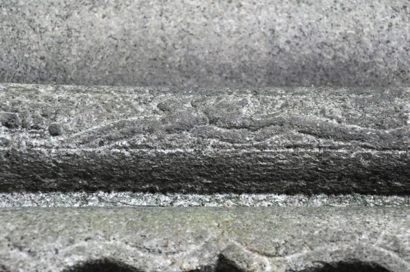 岡崎神社 狛犬 波兎