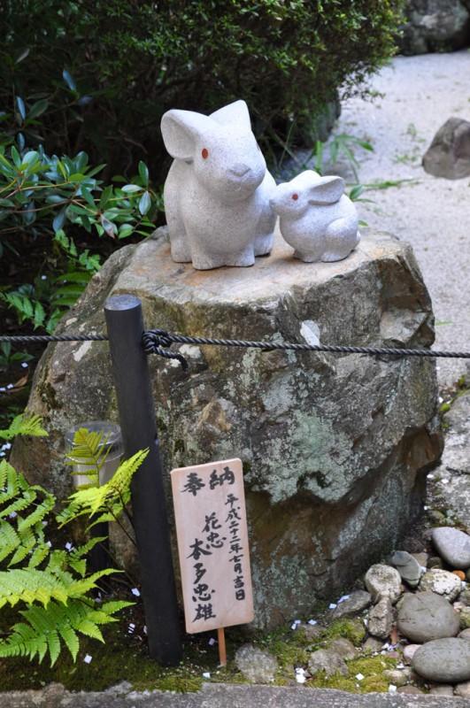岡崎神社 新しい兎