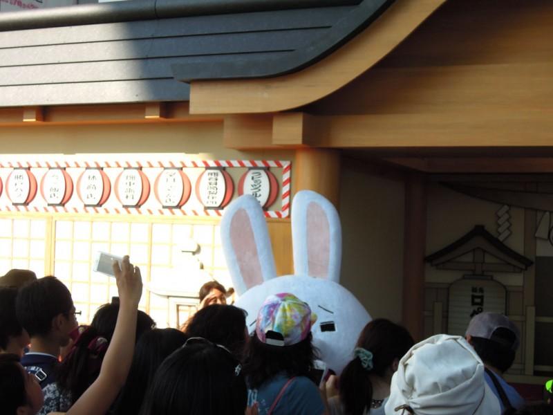 紙兎ロペ神社2015 神兎降臨