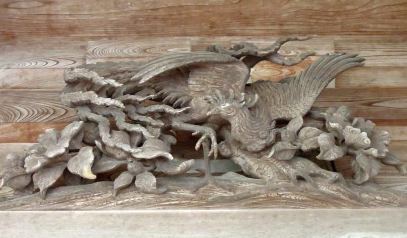 井波 瑞泉寺 太子堂 鳥