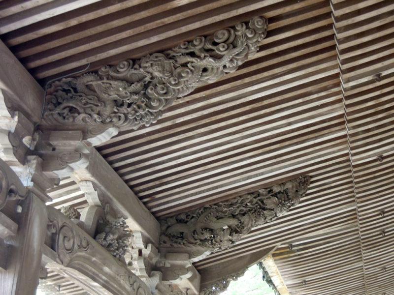 井波 瑞泉寺 太子堂 彫刻