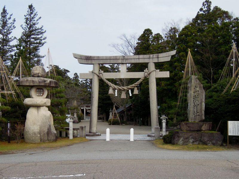 高瀬神社 鳥居