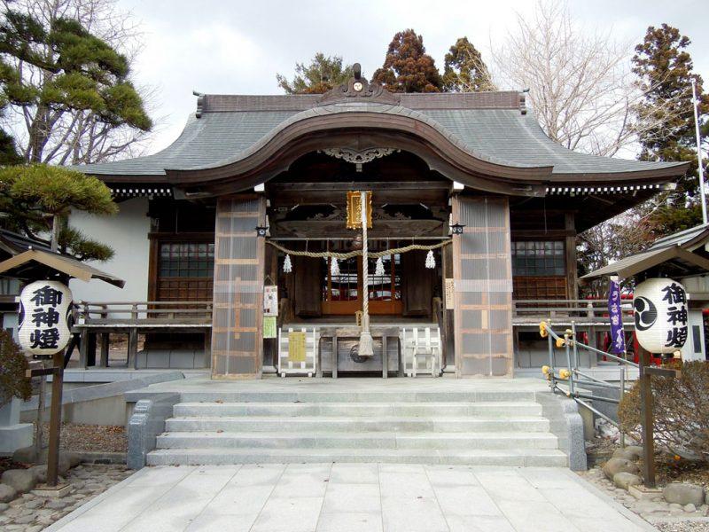 湯倉神社 社殿