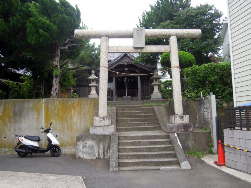 葉山須賀神社 鳥居
