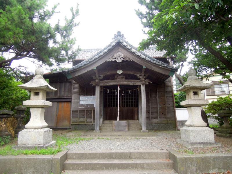 葉山須賀神社 拝殿