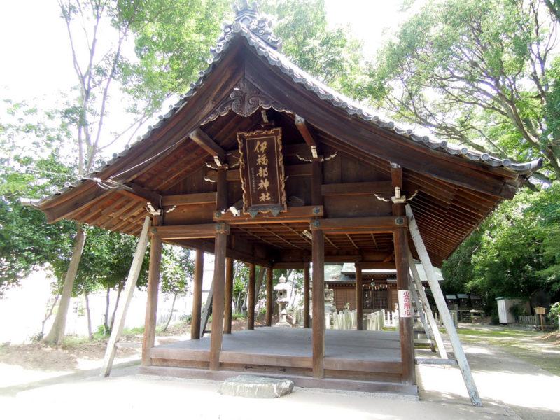 伊福部神社 拝殿