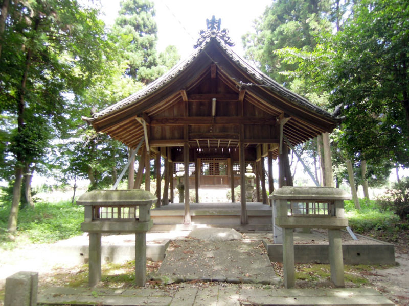 神明社 神楽殿