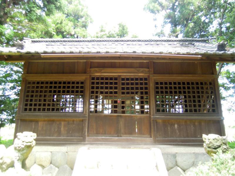 神明社 拝殿