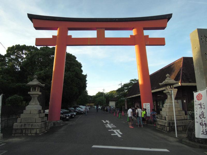 津島神社 鳥居