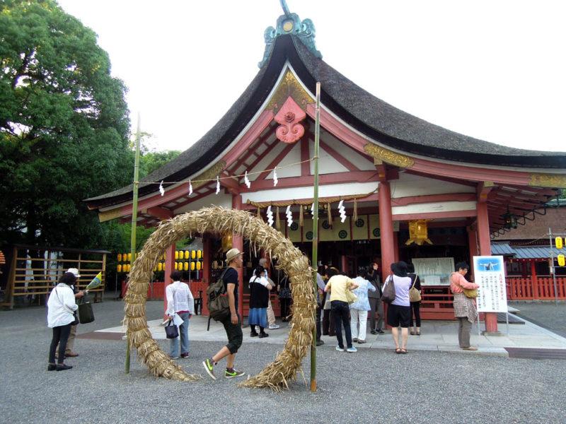 津島神社 拝殿