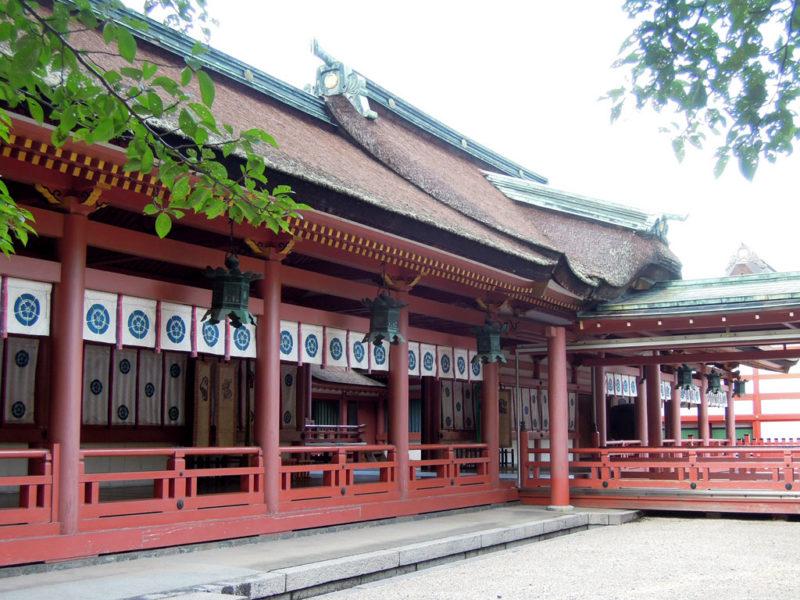 津島神社 回廊