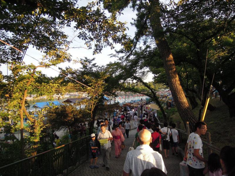 津島祭 天王川公園