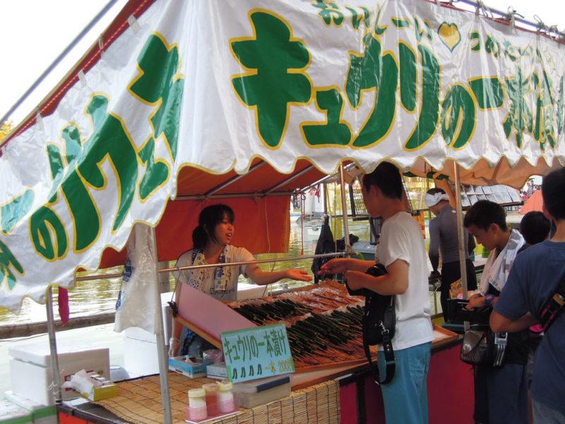津島祭り 屋台