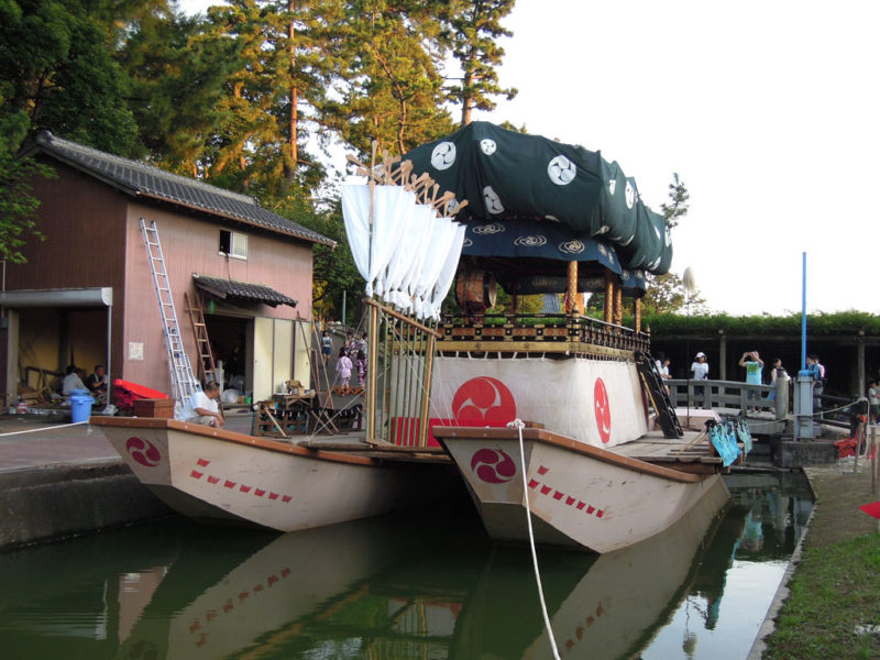津島祭 だんじり船