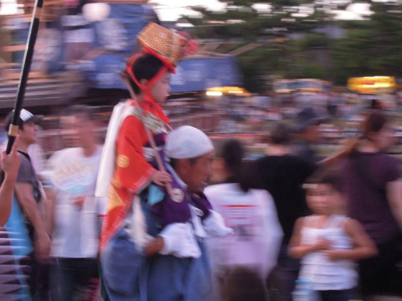 津島祭 お稚児さん