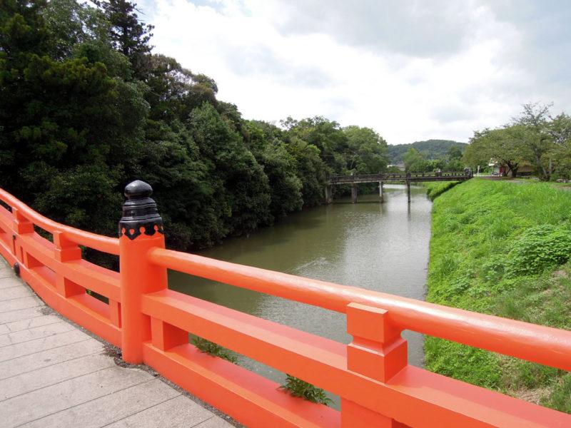 宇佐神宮 参道 橋