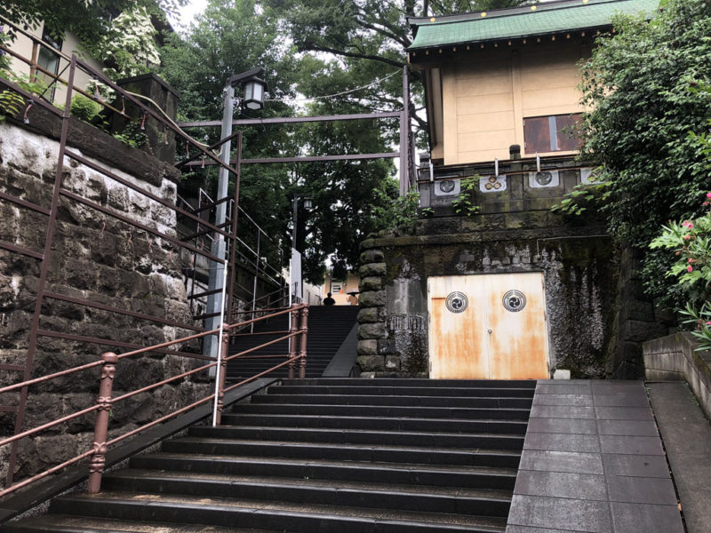 四谷須賀神社 女坂