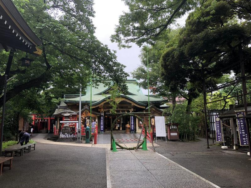 四谷須賀神社 境内