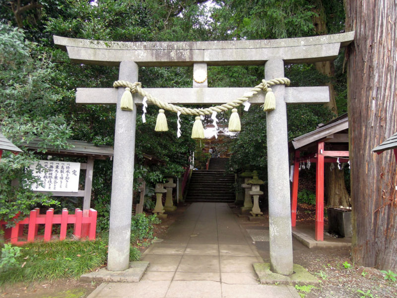 台方麻賀多神社 鳥居