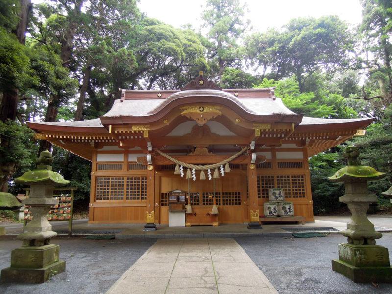 台方麻賀多神社 拝殿