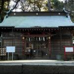 台方麻賀多神社 拝殿(旧)