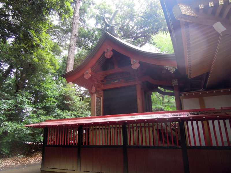 台方麻賀多神社 本殿