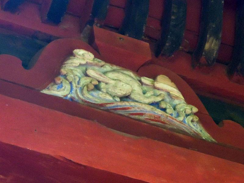台方麻賀多神社 本殿 兎