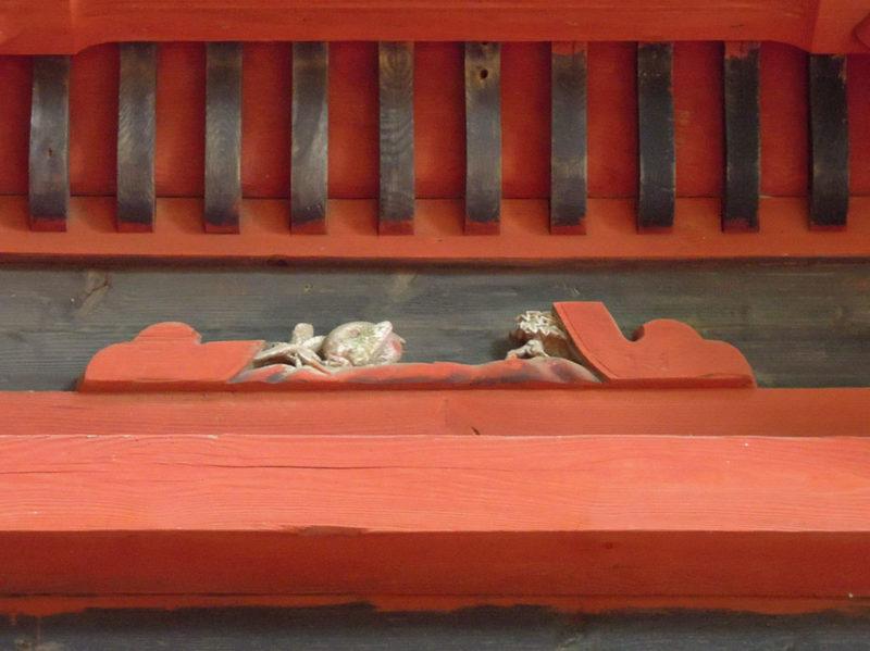 台方麻賀多神社 本殿 装飾