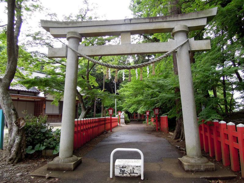 船形麻賀多神社 鳥居