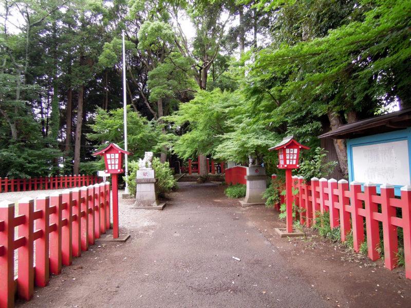 船形麻賀多神社 境内