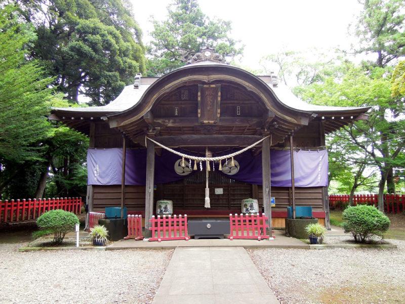 船形麻賀多神社 拝殿