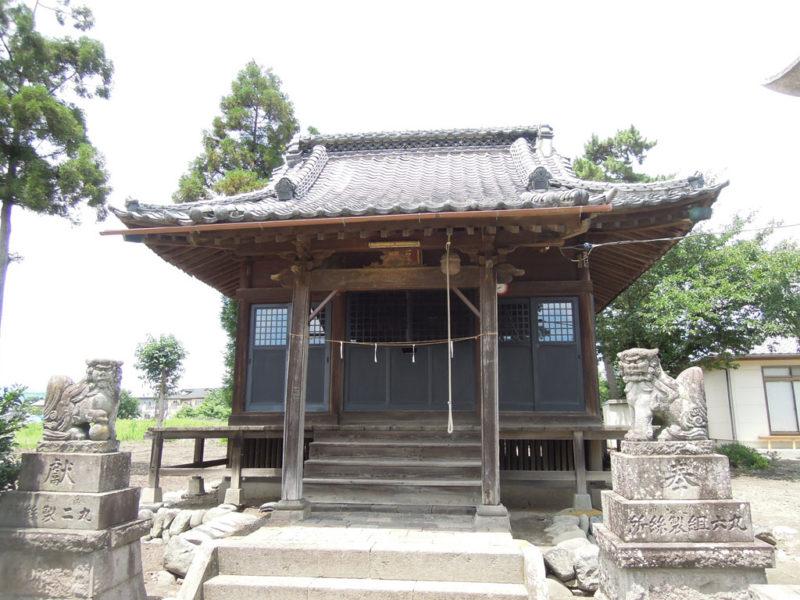 和泉神社(京目町) 拝殿