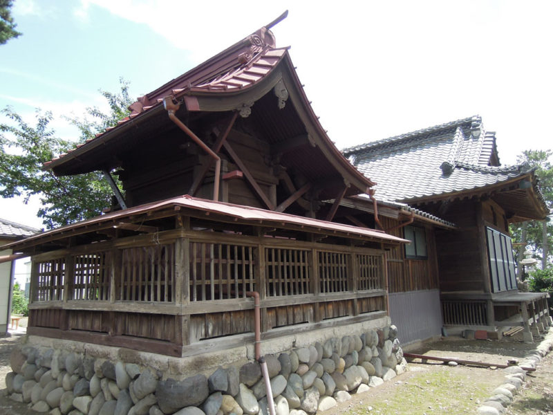和泉神社(京目町) 本殿