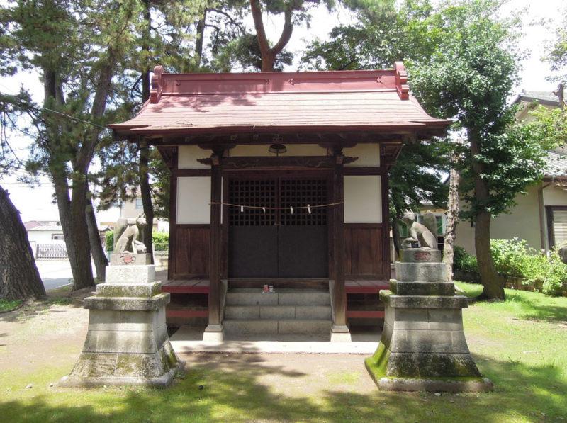 稲荷神社 (稲荷新田町) 拝殿