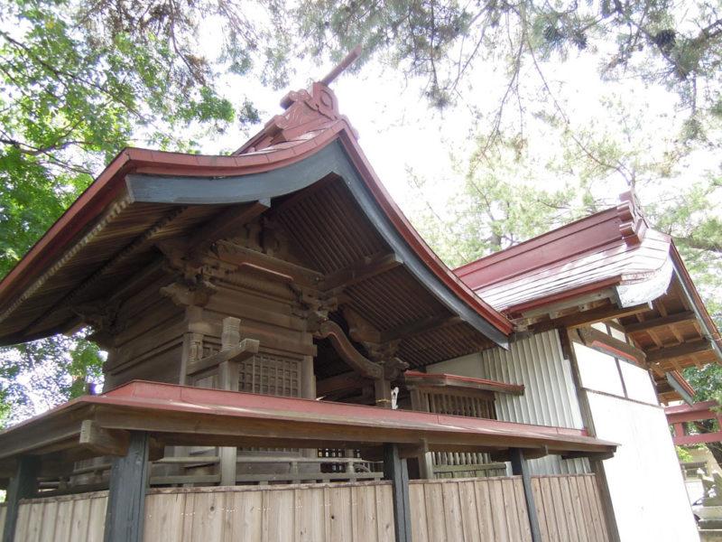 稲荷神社 (稲荷新田町) 本殿