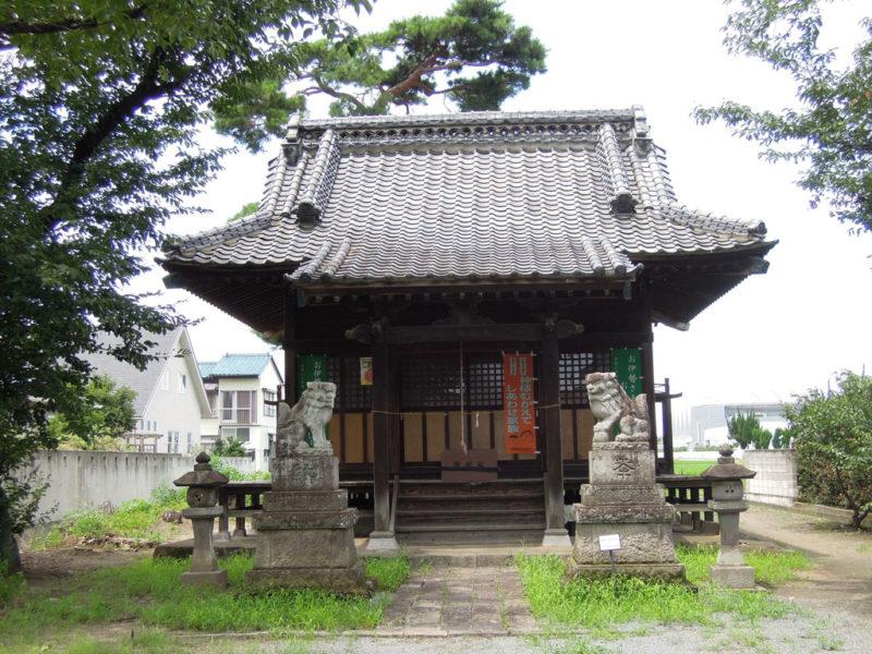 日枝神社(新保町) 拝殿